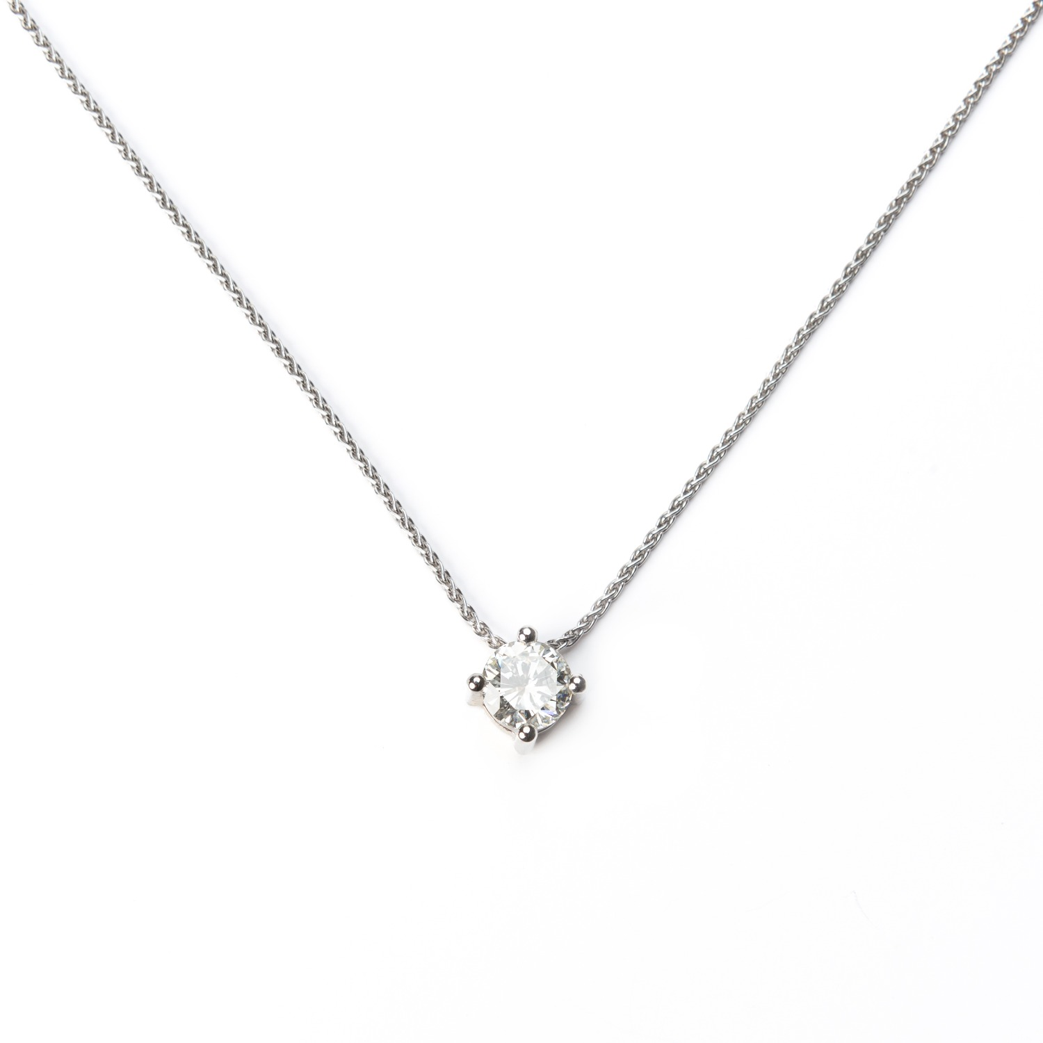 DANCING DIAMOND NECKLACE - MADE ON DEMAND -