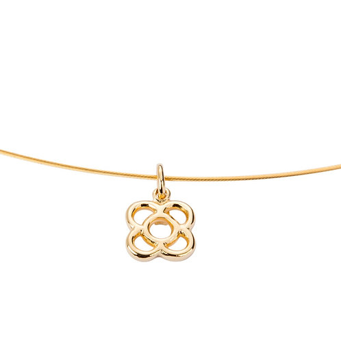 Gaudi golden necklace