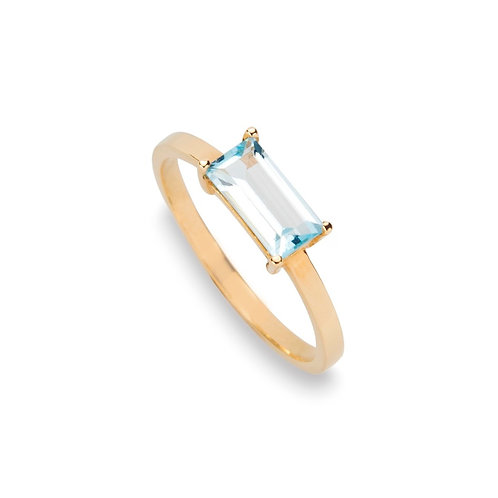 jewelry stores blue topaz gold ring