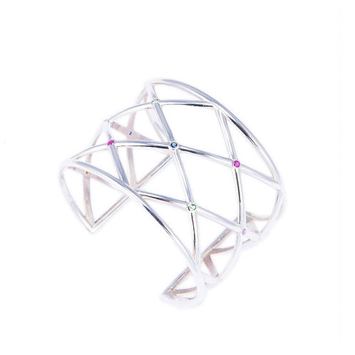 CRISSCROSS CUFF -MADE ON DEMAND-