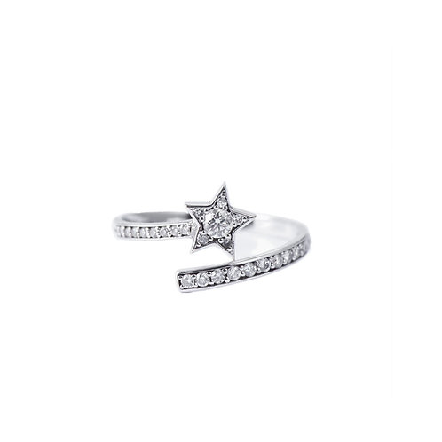 SHOOTING STAR RING - MADE ON DEMAND -