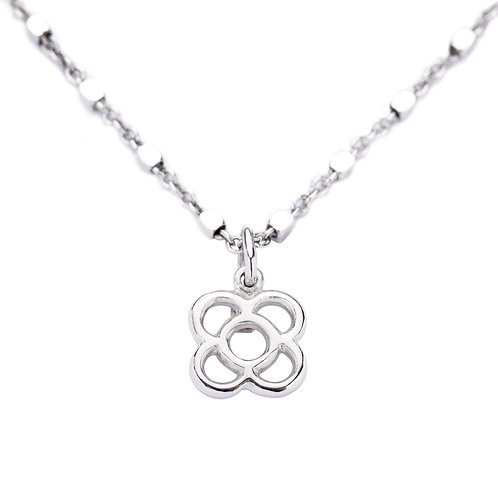 Gaudi silver necklace