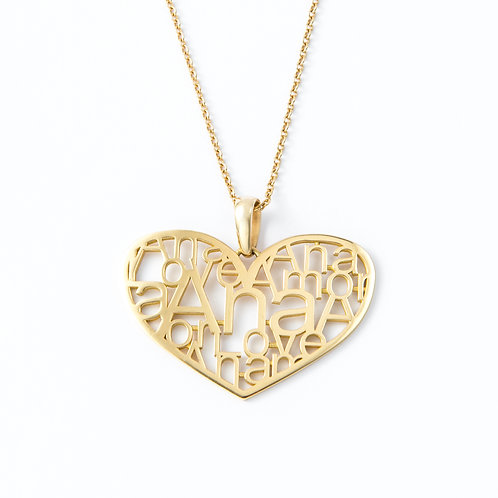 LOVE NECKLACE - MADE ON DEMAND -