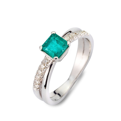 EMERALD DREAM RING - MADE ON DEMAND -