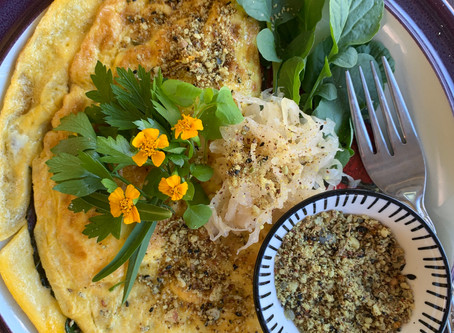 Garden Inspired Jam Packed with Goodness Omelette