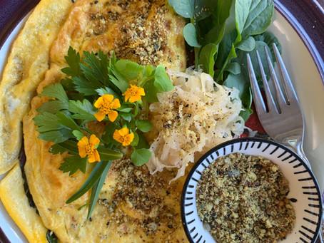 Garden Inspired Jam Packed with Goodness Omelette