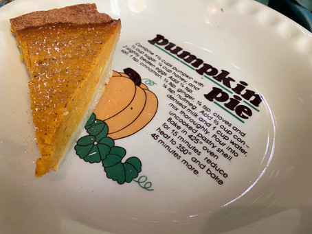 Simple Spiced Pumpkin Pie!