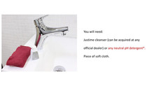 How to keep your faucet clean and shiny