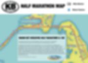 Key Biscayne Half Marathon Map