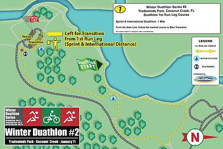 Duathlon Series TRADEWINDS RUN-COURSE 1.