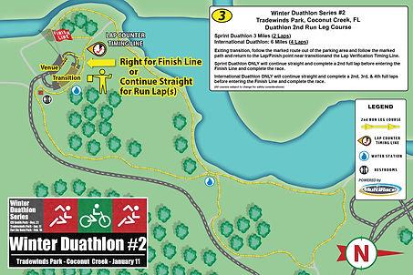 Duathlon Series TRADEWINDS RUN-COURSE 2.