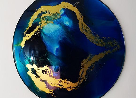Miroir rond 1m10 de diamètre