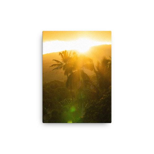 """Hawaii Sunrise"" Canvas Print"