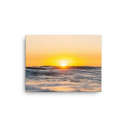 """Ocean Sunset"" Canvas Print"