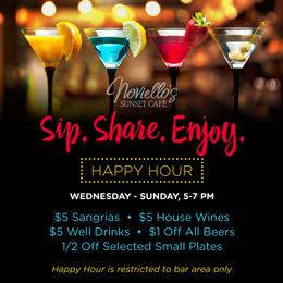 Celebrate Happy Hour
