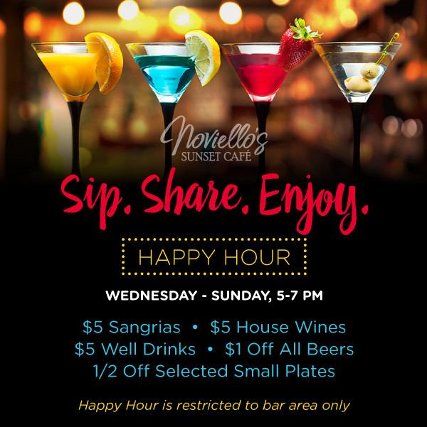 Celebrate Happy Hour