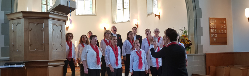 Voci Allegre beim Bettag 2019 in Stallikon