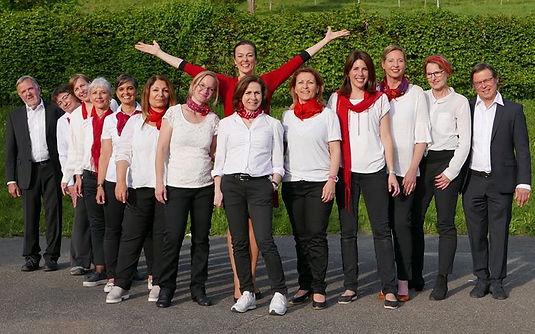 """Chor """"Voci Allegre"""", gegründet von Maja Fluri"""