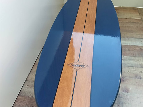 Classic Single Color Surfboard Coffee Table