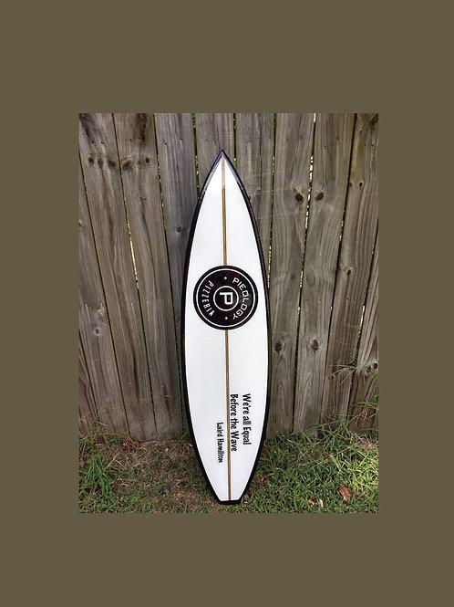 Shortboard  Surfboard Wall Hanger Custom Surfboard Various Sizes Available