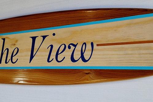 Personalized Surfboard Wall Hanger Wedding Signature Surfboard