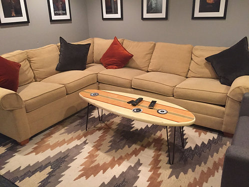 "54"" Surfboard Coffee Table"