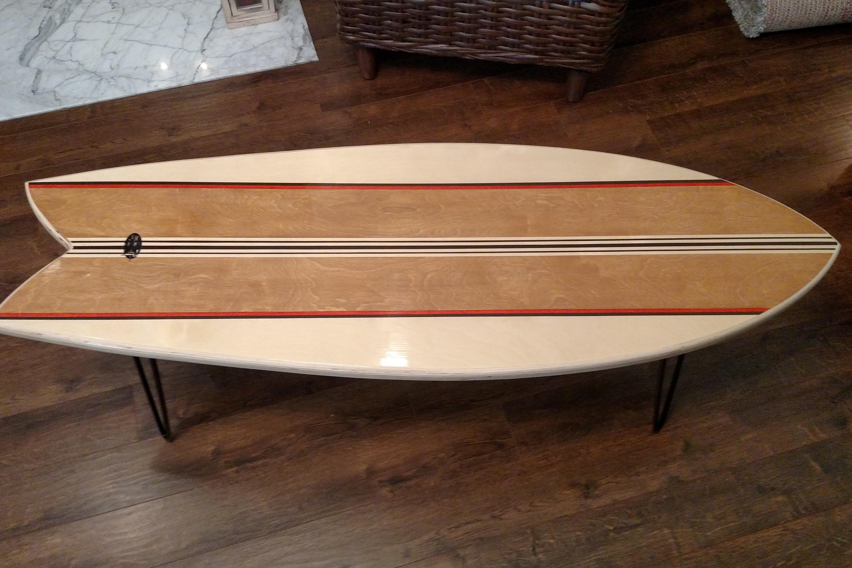 Marker Six Surf Works Surfboard Furniture Surf Decor