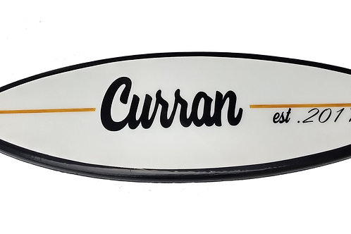 Shortboard Surfboard Wall Hanger Custom Surfboard Various Sizes Available