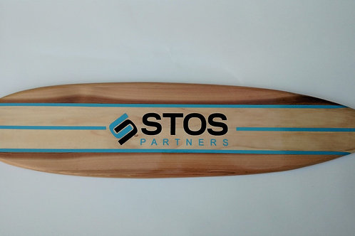 Personalized Surfboard Wall Hanger Corporate Signature Surfboard Customized