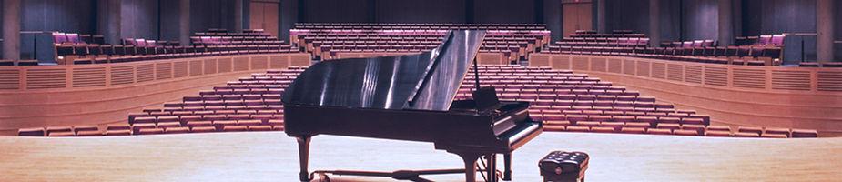 Recital Hall and Piano