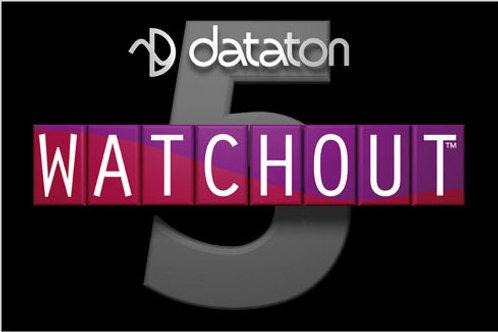 Logiciel de multi-diffusion DATATON Watchout (V5)