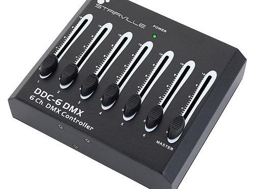 Contrôleur DMX 6 canaux STAIRVILLE DDC6