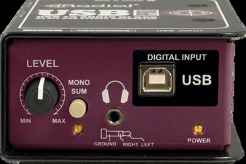 Boîtier DI stéréo USB Radial Engineering USB-Pro