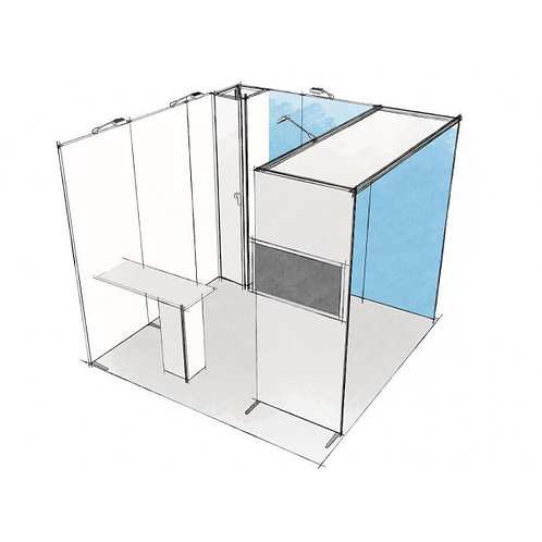 Stand modulaire 6 m2