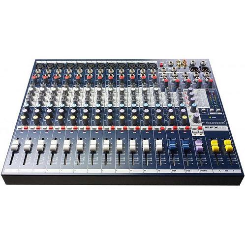 Console Analogique Soundcraft EFX12