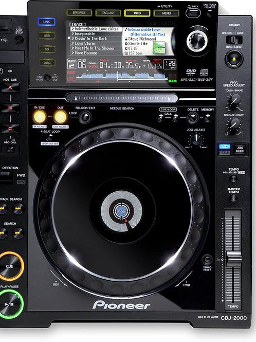 Platine PIONEER CDJ2000 (LA PAIRE)