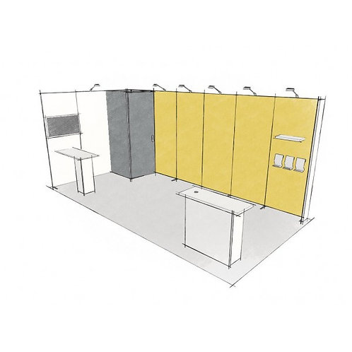 Stand modulaire 18 m2
