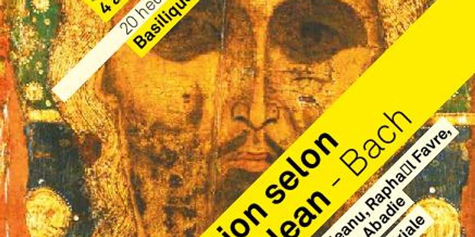 REPORTÉ - Passion selon Saint-Jean