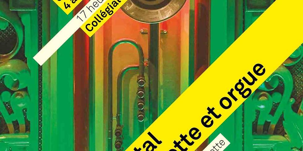 REPORTÉ - Récital Trompette et orgue