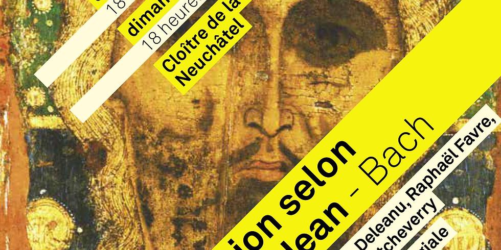 Passion selon Saint-Jean - CULTE MUSICAL