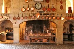 Chateau Brissac old kitchen