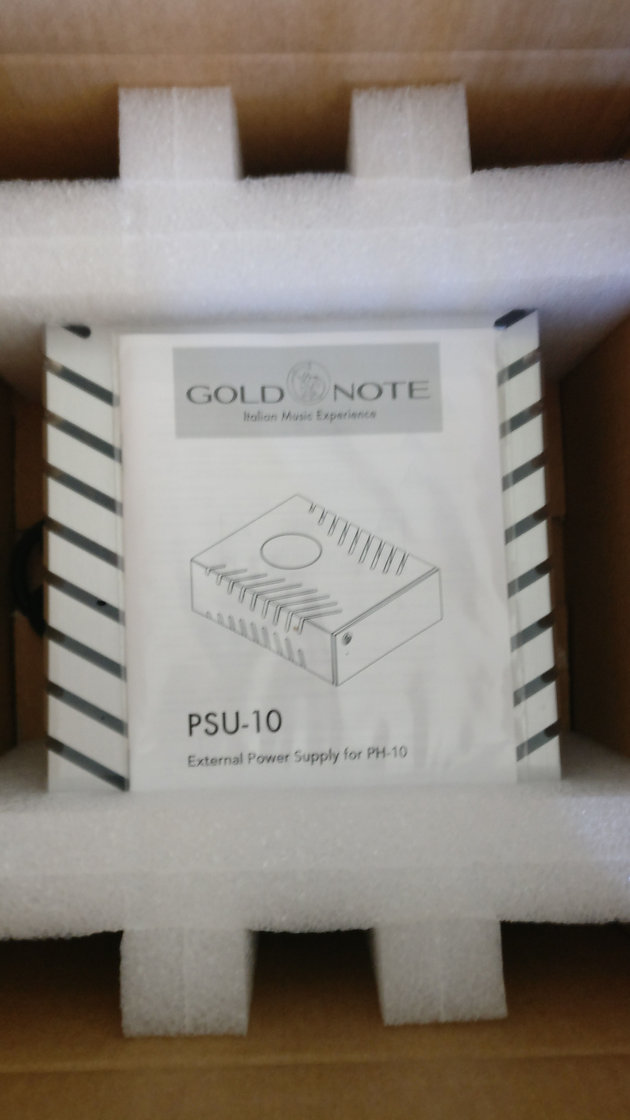 Gold Note PSU-10 Super Inductive Power Supply review