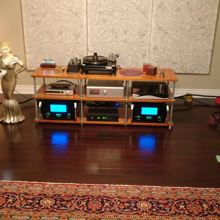 Listening session with Soulution 520 preamp