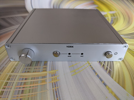Six Acoustic York phono stage