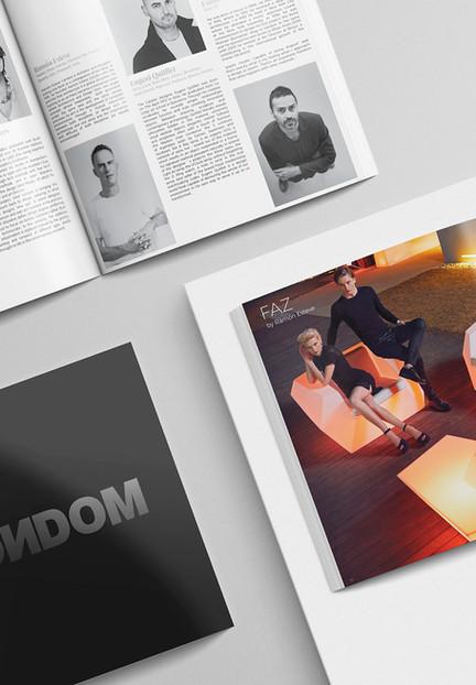 Diseño del catálogo Vondom