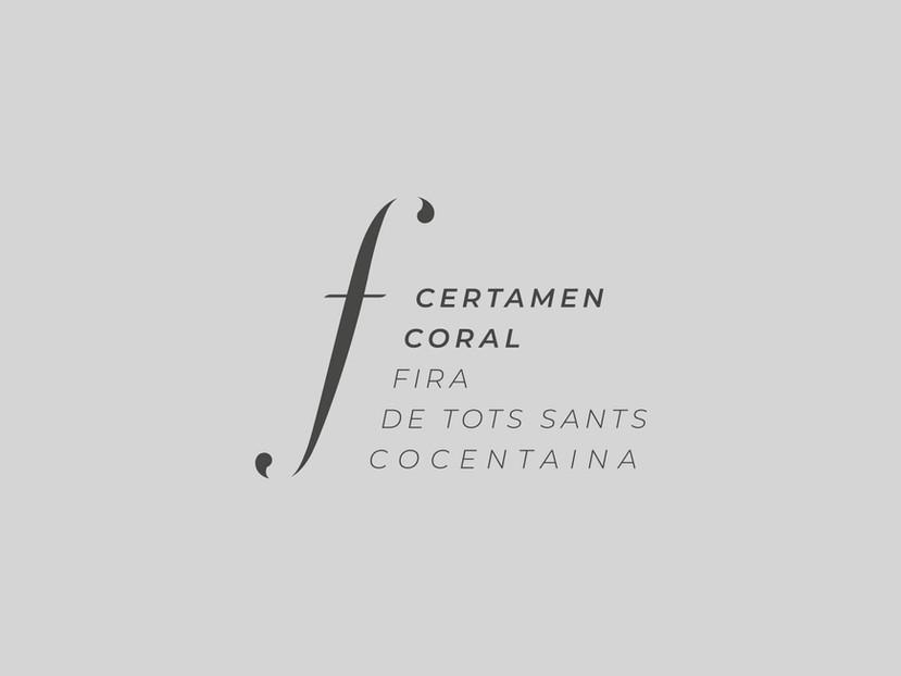 Logo Certamen Coral