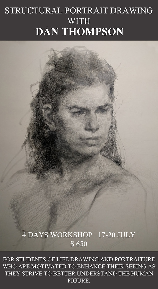 Structural Portrait Drawing Workshop