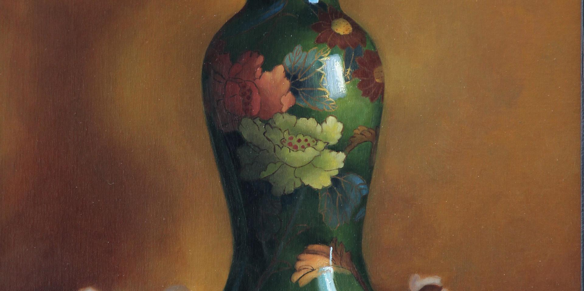 The green vase