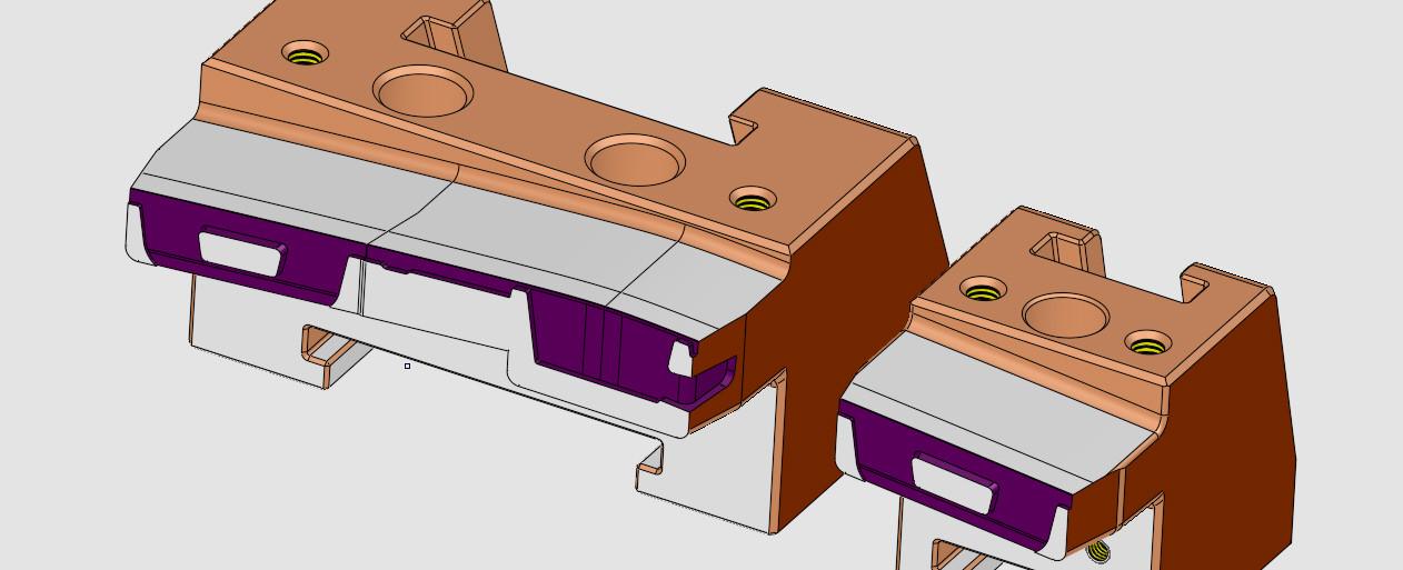 Spritzgusswerkzeug Schieber Konstruktion