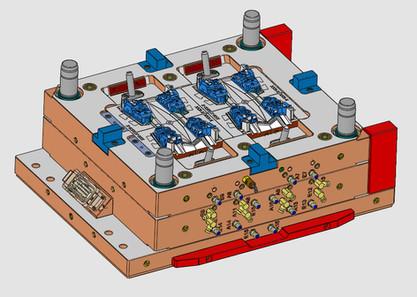 Konstruktion Spritzgusswerkzeug
